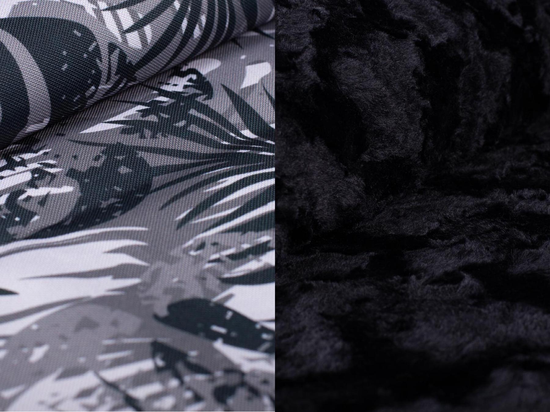 Wau-Picnic Wild in the Jungle-Wild Wave Black